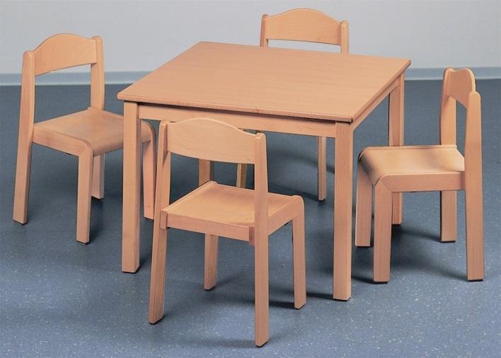 kinder tischgruppe klein 4 st hle kindergartenqualit t. Black Bedroom Furniture Sets. Home Design Ideas